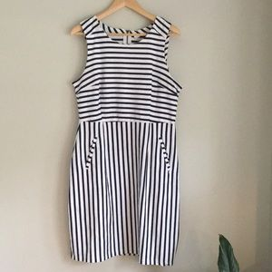 Old Navy Large Striped dress